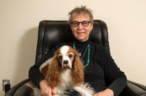 Last family portrait, Robyn and Murphy, Jan. 2012
